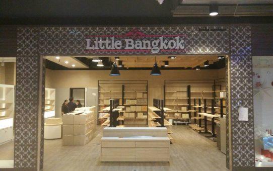 ตัวอักษรไฟออกหน้า Little Bangkok @ Show DC ชั้น